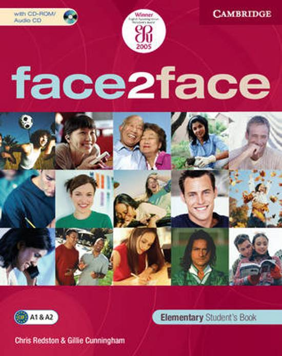 face2face elementary student s book решебник