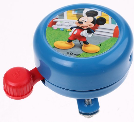 Widek Disney Mickey Mouse - Fietsbel - Blauw