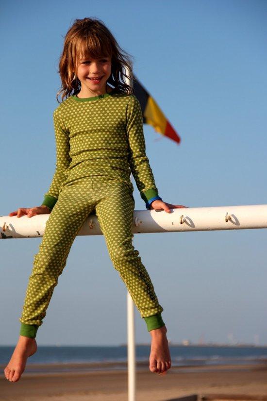 Ducksday pyjama broek unisex Funky Green - 2 jaar