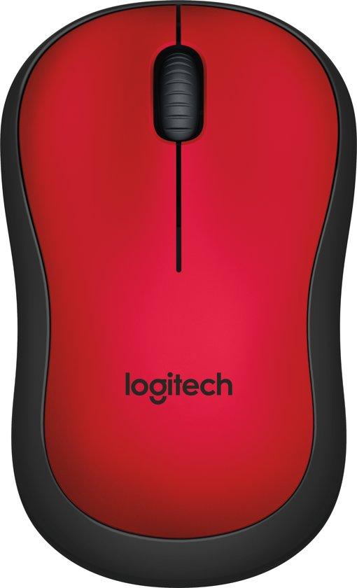 Logitech M220 - Silent Draadloze Muis - Rood