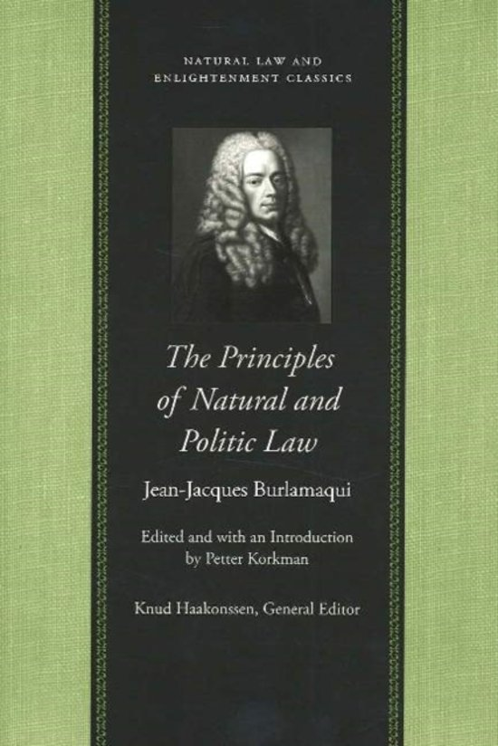 The Principles of Natural and Politic Law