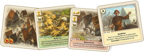 Thumbnail van een extra afbeelding van het spel De Vorsten Van Catan - Kaartspel