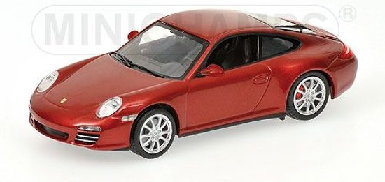 Porsche 911 Carrera 4S 2008 Red Metallic