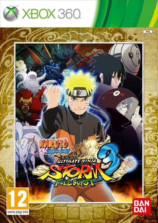 Naruto Ultimate Ninja Storm 3 - Full Burst Edition - Xbox 360