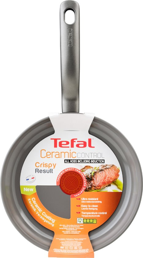Tefal Ceramic Control Induction Koekenpan 24 cm