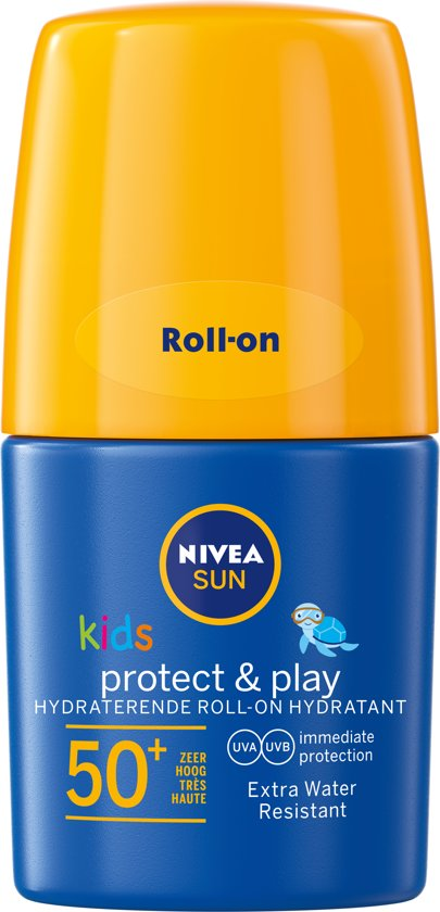NIVEA SUN Kids Zonnebrand Hydraterende Roll-on - SPF 50+ - 50 ml