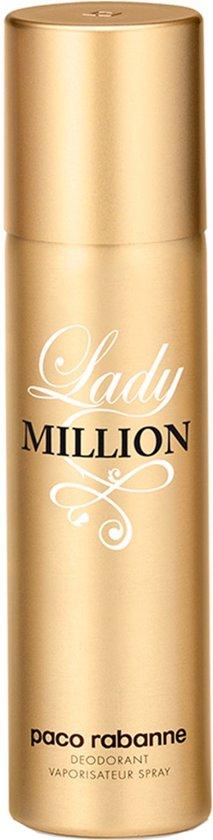 Paco Rabanne Lady Million Spray - 150 ml - Deodorant