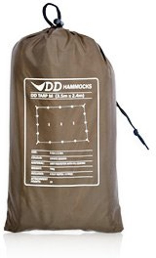 DD Hammocks Tarp M – Coyote Brown