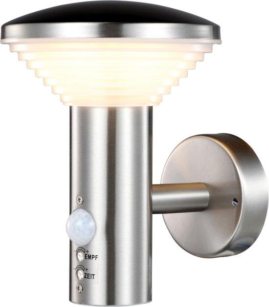 Buitenverlichting Met Sensor.Luxform Trier Led Wand Buitenlamp Met Sensor 230v