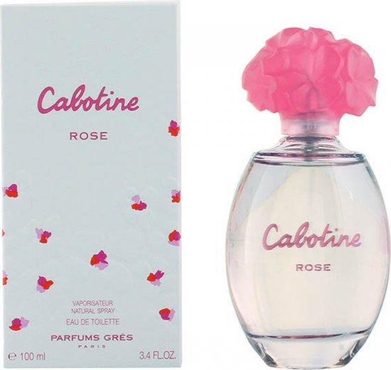 Gres Eau De Toilette Cabotine Rose 100 ml - Voor Vrouwen