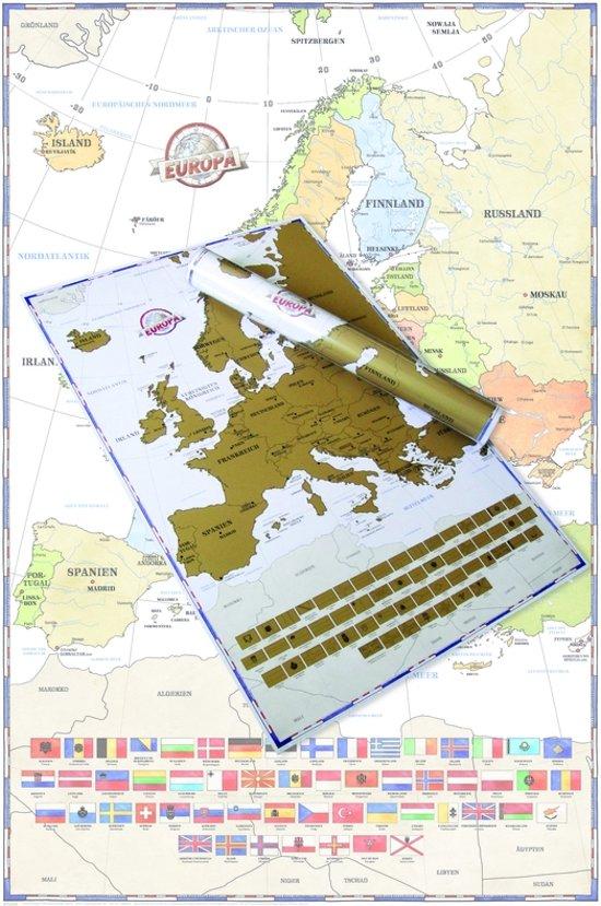 Europa-scratch-kraskaart-Landenkaart-LARGE-61x91.5cm.