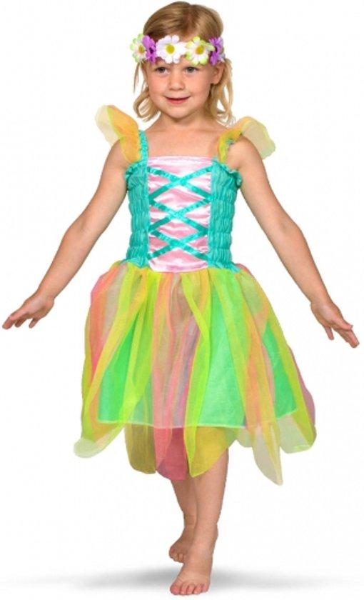 e22daf0571b86d Regenboog fee kostuum voor meisjes 3-5 jaar