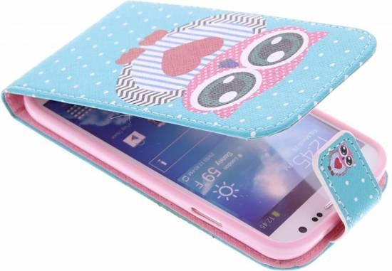 Hibou Boîtier Flip Tpu Design Pour Le Mini-samsung Galaxy S jCZOkX