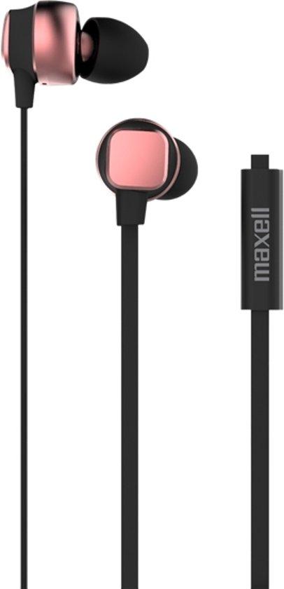 Maxell Metallix Rose Gold Intraauraal In-ear koptelefoon