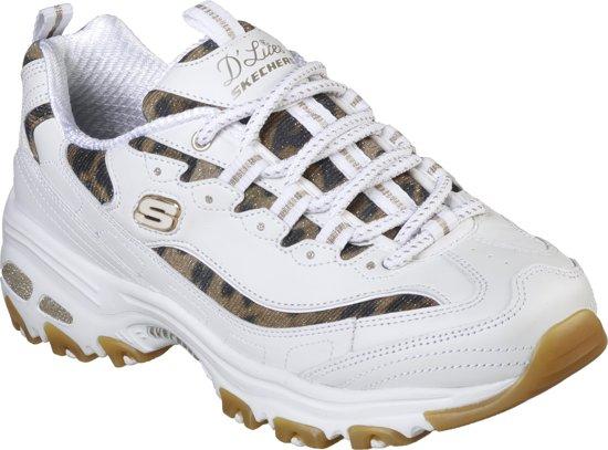 Skechers D'Lites Sure Thing Dames Sneakers Blauw Maat 39