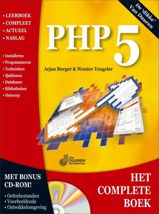 Bolcom Het Complete Boek Php5 A Burger 9789059403291 Boeken