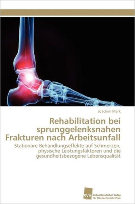 bol.com | Rehabilitation Bei Sprunggelenksnahen Frakturen Nach ...
