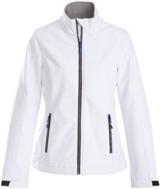 Lady Softshell Jacket White Printer Trial M yOmNn0w8Pv