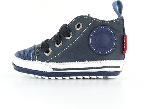 e6ea03cd696 Shoesme Jongens Baby Sneakers - Marino - Maat 18