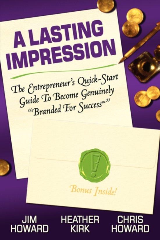 Branded For Success: The Entrepreneur'S