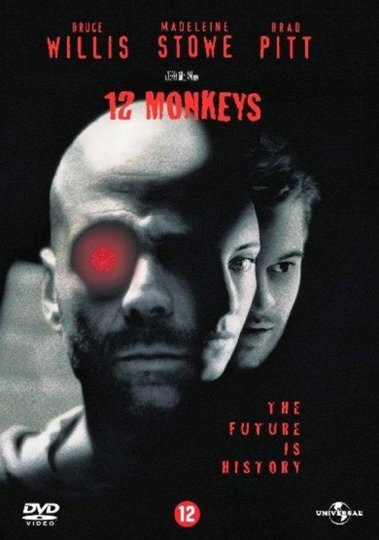 DVD cover van 12 Monkeys (D)