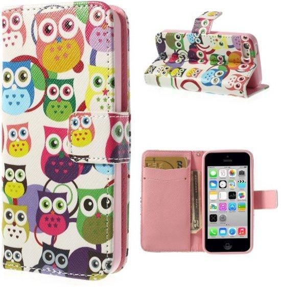 Apple iPhone 5C Wallet Case Owls in Tillet