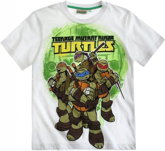 Teenage mutant ninja turtle t-shirt wit 152 cm