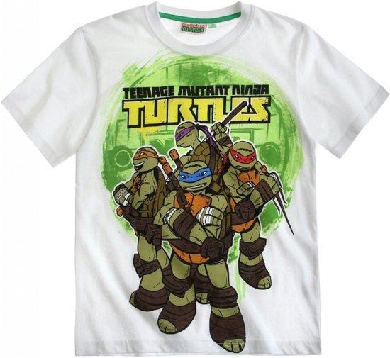 Teenage mutant ninja turtle t-shirt wit 152 cm