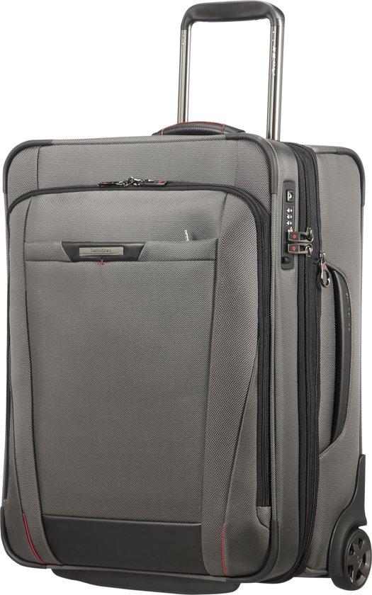 Samsonite Handbagagekoffer - Pro-Dlx 5 Upright 55/20 Uitbreidbaar (Handbagage) Magnetic Grey