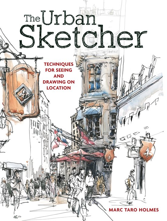 Image result for the urban sketcher taro holmes