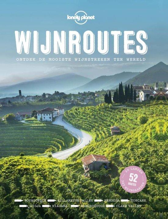 Boek cover Wijnroutes van Lonely Planet (Hardcover)