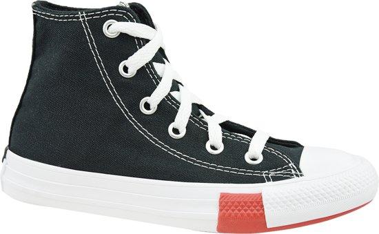 Converse Chuck Taylor All Star Hi Jr 366988C, Vrouwen, Zwart, Sneakers maat: 28 EU
