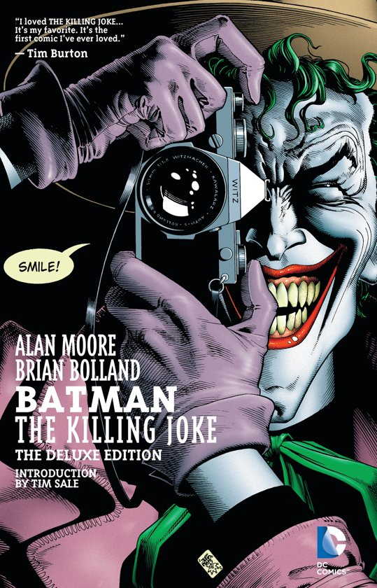Boek cover Batman The Killing Joke, Deluxe Edition van Alan Moore (Paperback)