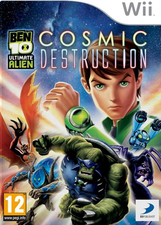 Ben10 Ultimate Alien: Cosmic Destruction