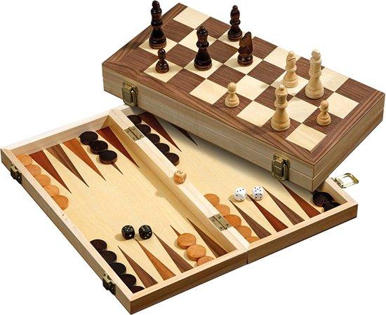 Philos 3-1 set 40mm - Backgammon, schaken en dammen