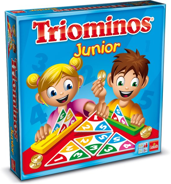 Triominos - Junior - Kinderspel - Goliath