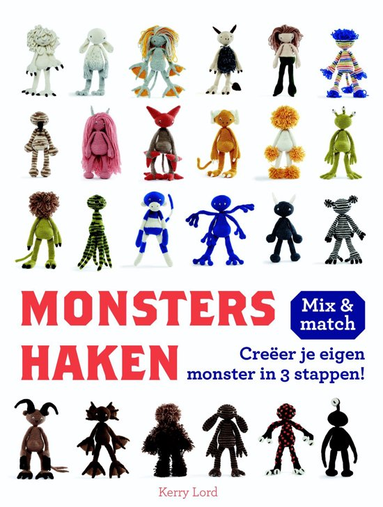 Bolcom Monsters Haken Kerry Lord 9789043919401 Boeken