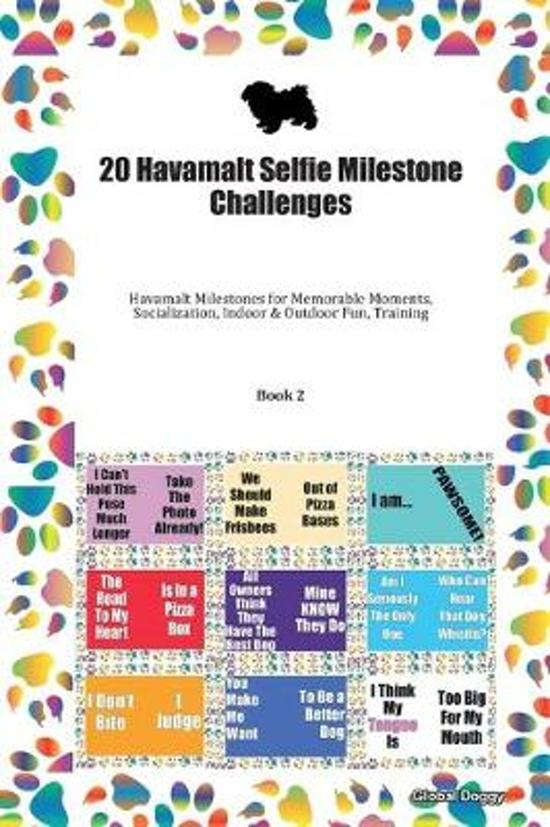 20 Havamalt Selfie Milestone Challenges: Havamalt Milestones for Memorable Moments, Socialization, Indoor & Outdoor Fun, Training Book 2