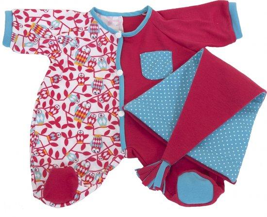 Rubens Barn Poppenkleertjes Rubens Baby Pyjama roze