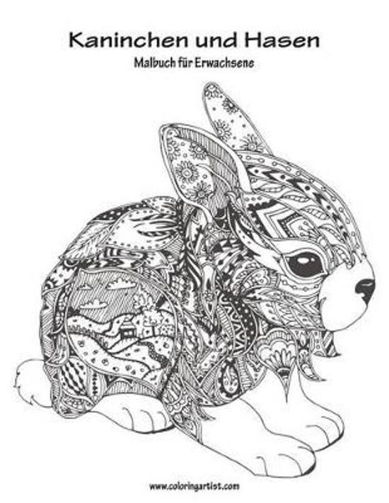 bol  malbuch mit kaninchen und hasen fur erwachsene 1