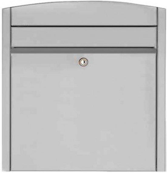 Hardbrass Postkast System Gebogen RVS