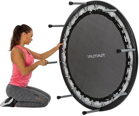 Tunturi Funhop Fitness trampoline - Mini trampoline 125 cm
