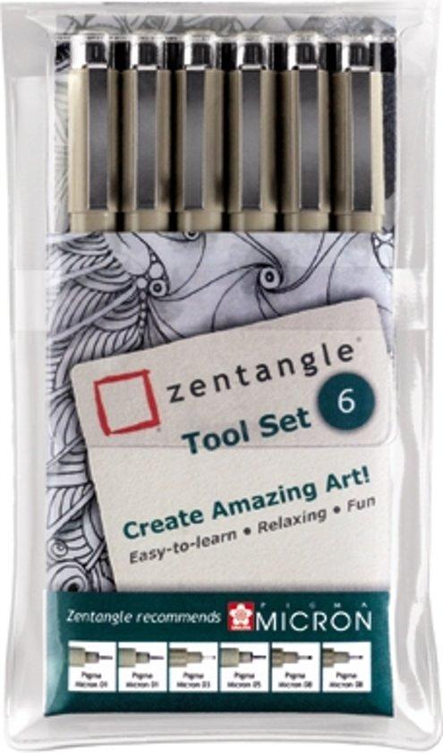 Sakura Zentangle Original tool set 6