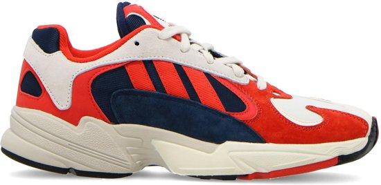 Adidas Dames Sneakers Yung-1 Wmn - Rood - Maat 40
