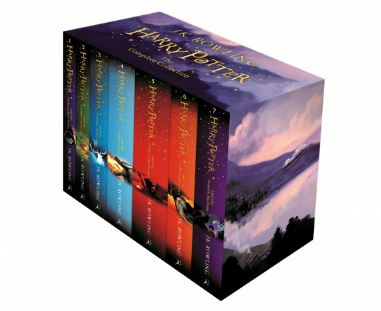 Boek cover Harry Potter boxset (1-7) van J.K. Rowling (Binding Unknown)