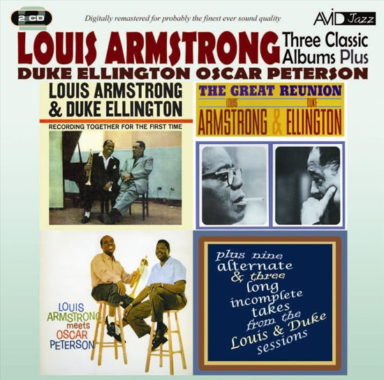 Armstrong / Ellington / Peterson - Three Classic A