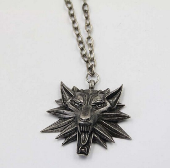 Geralt of Rivia's Witcher Medallion - echt ijzer