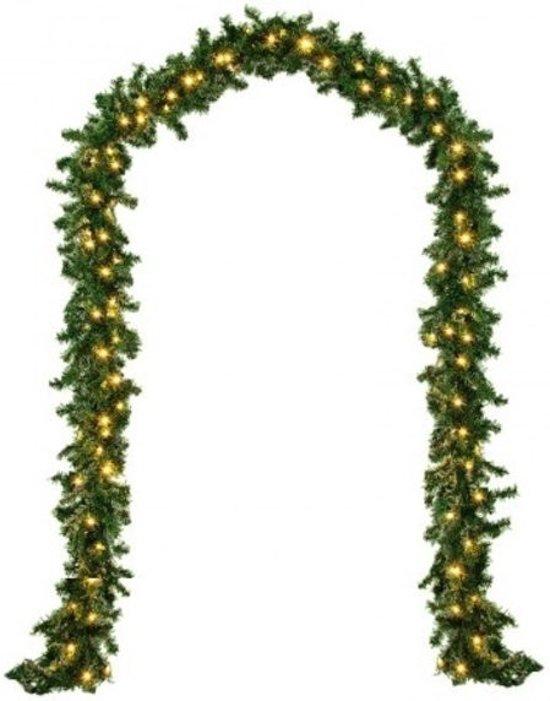 Monzana Decoratieve Kerstguirlande - 5 meter - 100 LEDs - In-/outdoor