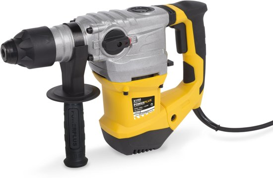 Powerplus POWX1195 Boorhamer - 1500 W - Incl. BMC-koffer, 3 SDS-plus boren en 2 SDS-plus beitels