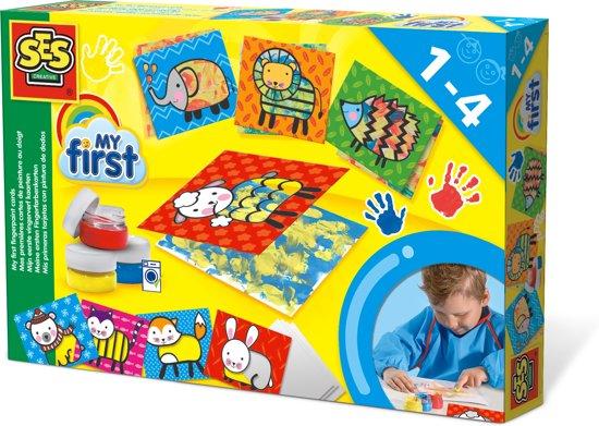 SES My first- Mijn eerste vingerverf kaarten